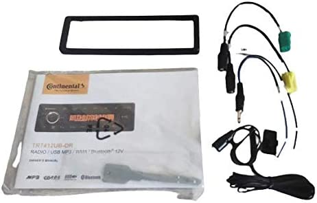 Continental Tr7412ub Or Mp3 Autoradio Mit Bluetooth Elektronik