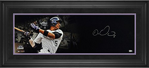 Carlos Gonzalez Colorado Rockies Framed Autographed Film Strip Panoramic - Fanatics Authentic Certified ()