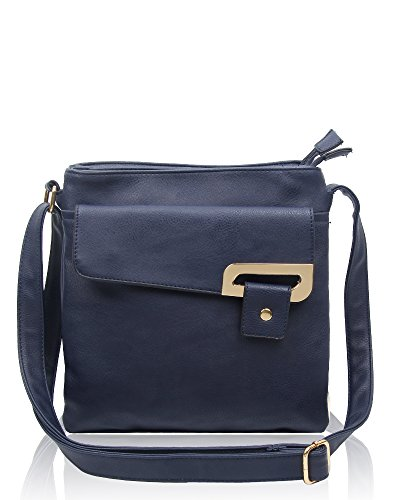 RS.FASHIONS Messenger Bags, Borsa a tracolla donna Multi Colour M Navy