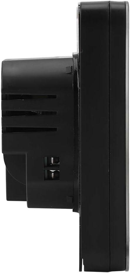 WiFi Termostato Termostato de Calefacci/ón Programable Pantalla LCD Digital con Luz de Fondo Controlador de Temperatura Wirless Negro