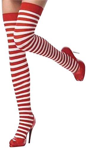 Red Christmas Stockings Leggings Pack of 2 Pairs Very Soft and Warm New -