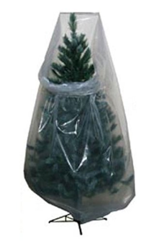 Amazon.com: Clear Poly Vinyl Christmas Tree Storage Bag: Home ...