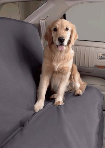 SUV Dog Car Seat Cover Size Small (50″W) Color Slate Review