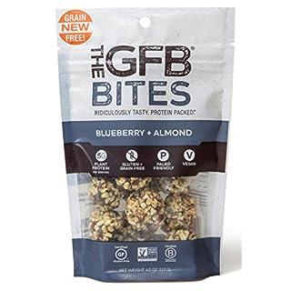 The GFB Gluten Free, Paleo Grain Free Protein Bites, Blueberry Almond, 4 Ounce (6 Count), Vegan, Dairy Free, Non GMO