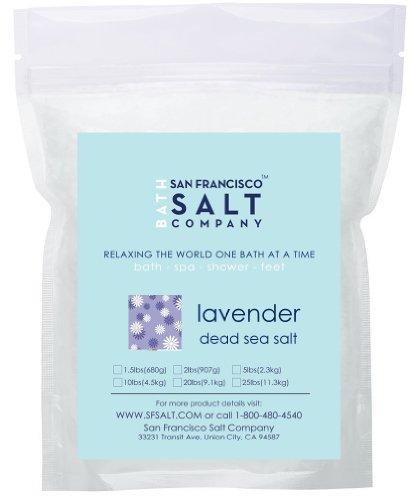 Relaxing Lavender, Dead Sea Mineral Soak 20lbs (Dead Sea Salt 20 Lbs compare prices)