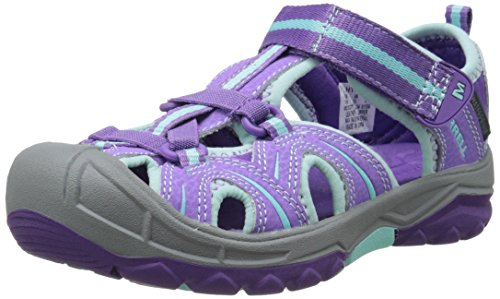 Merrell Girls' Hydro Hiker Hiking Sandals, Multicolor (Purple/Blue), 5 UK