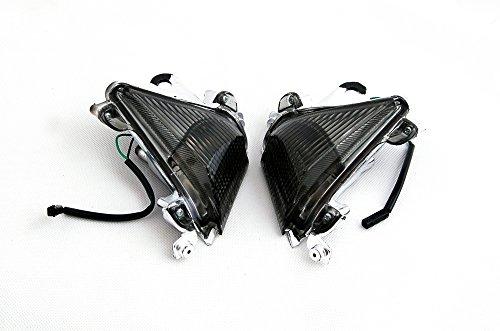Areyourshop Front Turn Signals For Lens Kawasaki ZX10R 2004-2005 (Kawasaki Zx10r 2005 Standard)