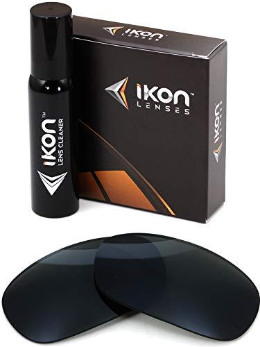 Polarized IKON Replacement Lenses for Maui Jim Black Coral MJ 249 Sunglasses - Black (Black Coral Maui Jim)