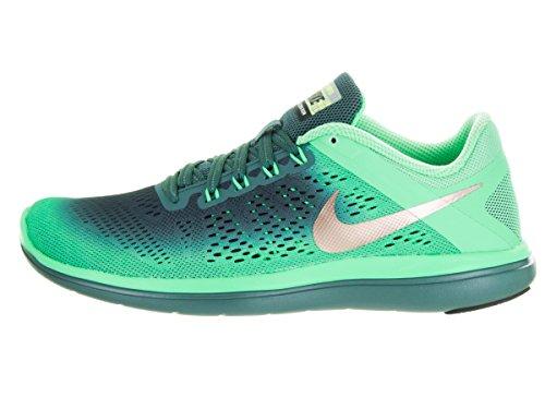 Nike Women's 852447-300 Trail Running Shoes, Green Green (Green Glow / Mtlc Red Bronze / Hasta / Black)
