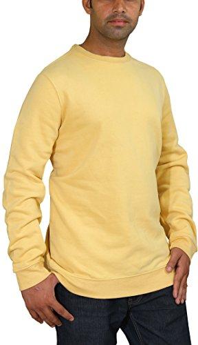 Utopia Wear Men's Fleece Cotton Crew-neck Sweatshirt