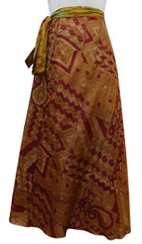 rversible Saree Indianbeautifulart Beach Wrap Brown Vintage Dress Summer Magenta amp; Femmes waqY5Inrq