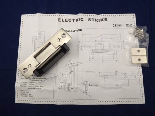 FCL-17AO Power off-lock Holding Force 1800kg for Wooden Doors Stainless Steel Electric Strikes Lock by FCARD (Image #5)