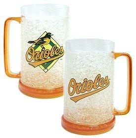 Duck House Baltimore Orioles 16 oz Plastic Crystal Freezer Mugs - Set of 4