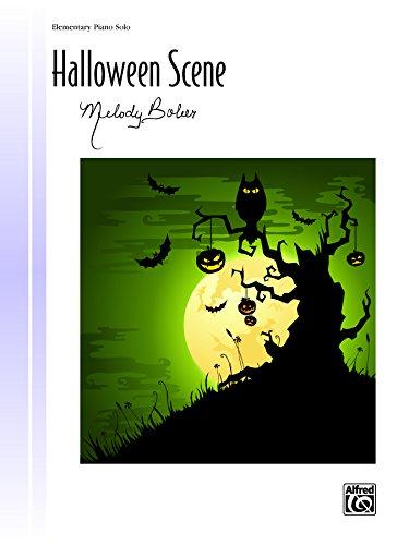 Halloween Scene: Elementary Piano Solo (Piano) (Signature Series) ()