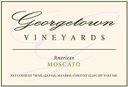 NV Georgetown Vineyards American Moscato Wine 750ml White Wine