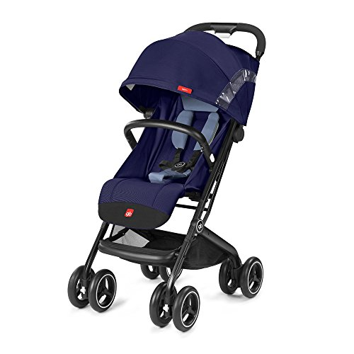 gb 2018 Buggy QBIT+ WITH Bumper Bar ''Saphir Blue navy blue''- from birth up to 17 kg (approx. 4 years) - GoodBaby QBIT PLUS by gb