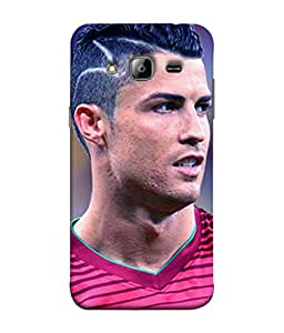 ColorKing Football Ronaldo Portugal 15 Multi Color shell case cover for Samsung On7