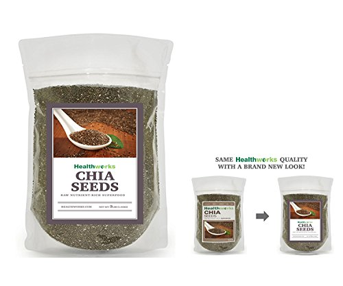 HealthWorks Chemical Free Chia Seeds 3 Pounds - Benvia Gold