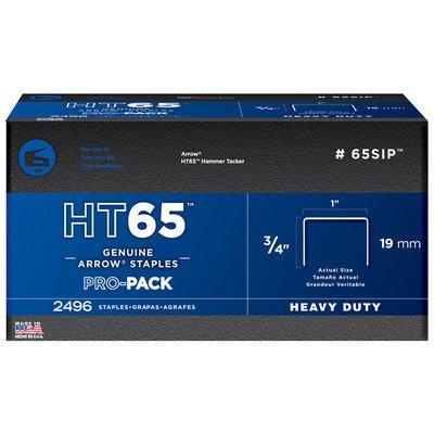 Arrow Fastener 65SIP 3/4'' HT65 Staples