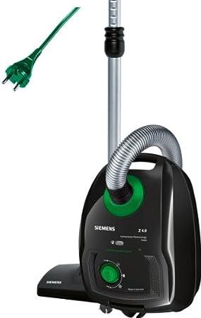 Siemens VSZ4GPX1 - Aspiradora con bolsa, 950 W, 4 litros, filtro ...