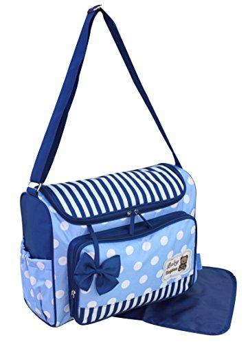 GMMH 2piezas bolso cambiador 3140Bolsa de bolsa para pañales Baby funda Selección de Colores rosa rosa azul