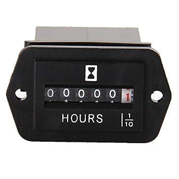 AIMILAR - Medidor de Horas mecánico AC 110 - 250 V para ...