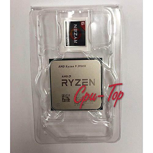 AMD Ryzen 9 3900X R9 3950X 3.5 GHz 16-Core 32-Thread CPU Processor 7NM L3=64M 100-000000051 Socket AM4