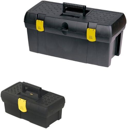 Stanley 192952 - Lote de 2 cajas de herramientas (48,3 y 31,75 cm ...