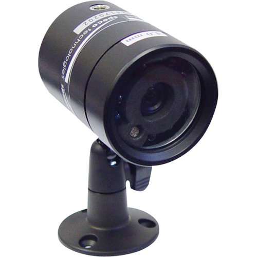 SPECO VL-62 Color Waterproof Camera with Built-in IR LEDs