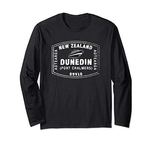 Dunedin New Zealand Passport Stamp Vacation T-shirt