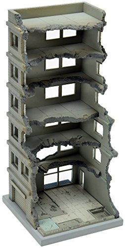 Tomytec Building 151 High Rise under Demolition A (N Scale ) 1/150