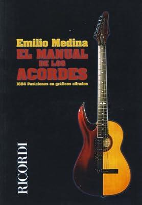 MEDINA E. - Manual de los Acordes 1884 Posiciones para Guitarra ...