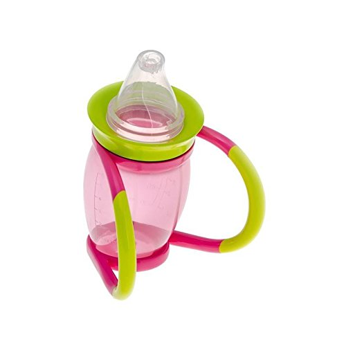Brother Max 4 in 1 Trainer Cup Pink/Green - Pack of 6