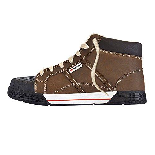 Superga s138140–�?9–Schuhe Arbeit, Brown, 39Jahre, Farbe: Braun