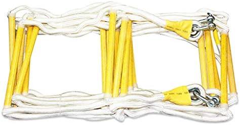 MEI XUクライミングロープ ナイロンロープの折り畳み梯子高高度のポリプロピレンマルチレングスオプションの緊急脱出消防士の使用 (サイズ さいず : 20m)