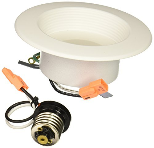 Halo Recessed RL460WH940PK 90 CRI 4000K LED Retrofit with bianca Trim, 4, Cool bianca by Halo Recessed