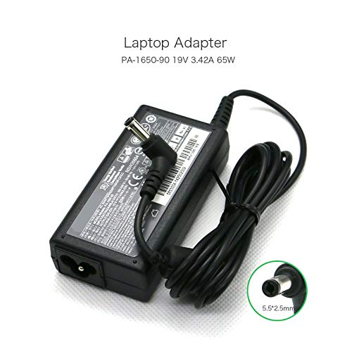 19V 3.42A 5.52.5mm PA-1650-90 Notebook AC Adapter for Acer Aspire 3620 4520 5000 Series