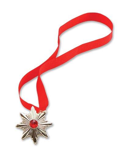 Bristol Novelty BA230 Dracula Medallion, Red, One Size]()