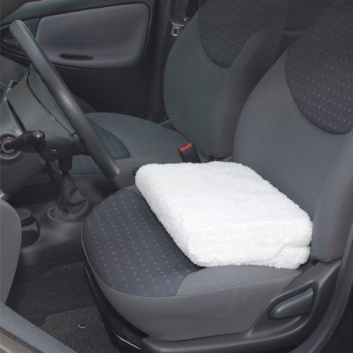 Yupbizauto New Breathable Mesh Fabric Comfortable Ergonomic Car Seat Cushion Grey