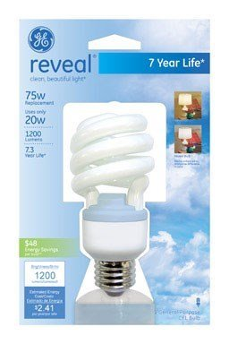 G E Lighting #75407 GE 20W Reveal CFL Bulb ()