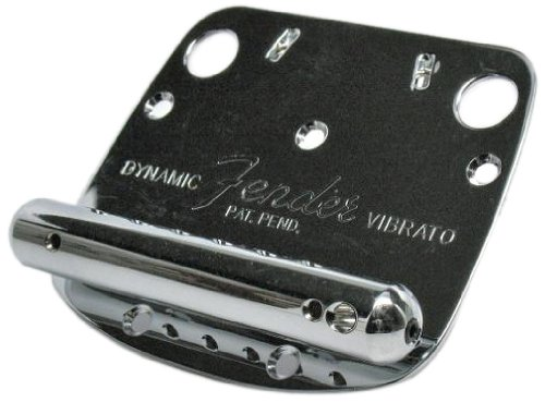 Fender Mustang Bridge - Fender Mustang Tremolo Assembly - Chrome
