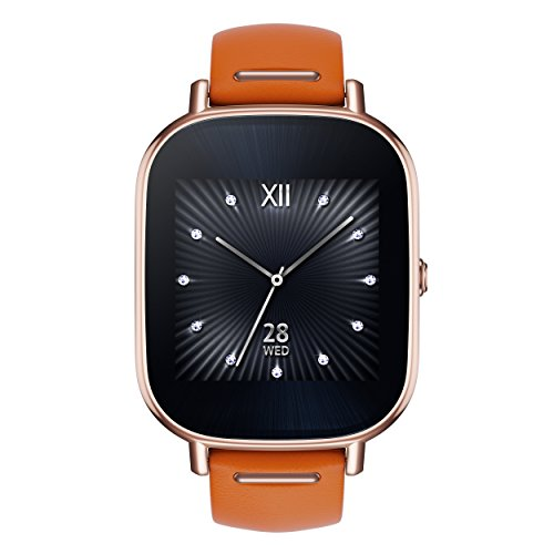 ASUS ZenWatch 2 WI502Q-RL-OG-Q 1.45-inch AMOLED Smart Watch w Quick Charge - ORANGE LEATHER