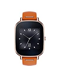 ASUS ZenWatch 2 WI502Q-RL-OG-Q 1.45-inch AMOLED Smart Watch w/ Quick Charge - ORANGE LEATHER