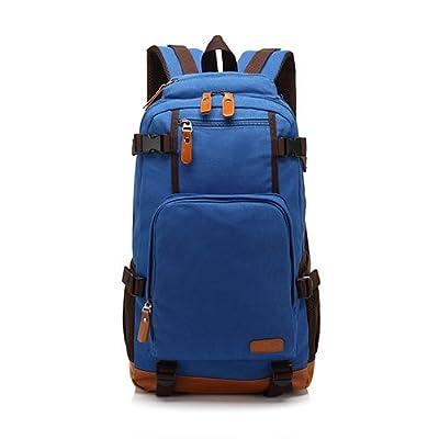 JWBB Version coréenne sac épaule sac de toile pour hommes tendance sac à dos d'hommes jeunes college student travel loisirs électricitéVersion coréenne sac épaule sac de toile