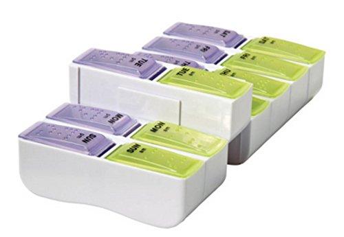 Apex Detach N Go AM/PM Pill Box by Apex
