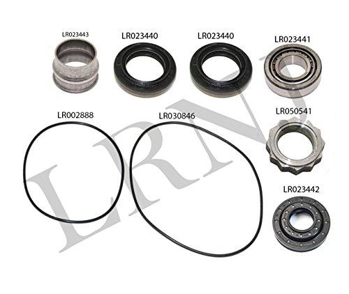 (LAND ROVER LR2 / FREELANDER 2 2008-2012 REAR DIFFERENTIAL BEARING REPAIR KIT PART: LR023443 / LR023440 X2 / LR023442 / LR002888 / LR023441 / LR030846 / LR050541)
