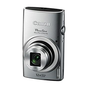 Amazon.com : Canon PowerShot ELPH 170 IS (Silver) : Camera