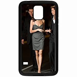 Angelina Jolie Custom Fashion Hard Plastic Case Cover For Samsung Galaxy S5 Suitable For Guys