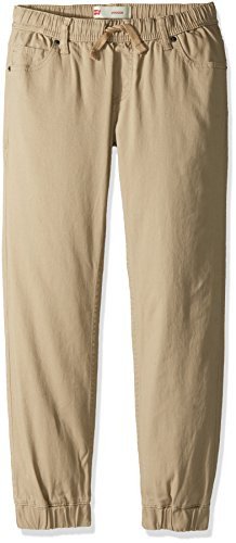 Levi's Big Boys' Chino Jogger Pants, True Chino, XL (Boys Sweatpants Size 18)