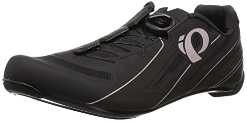 Pearl iZUMi Women's W Race Road v5 Cycling Shoe Black, 43.0 M EU (10.8 US)